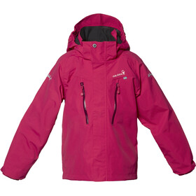 Isbjörn Storm Hard Shell Jacket Kids hibiskus
